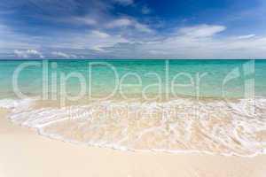 tropical white beach