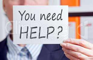 you need help ?