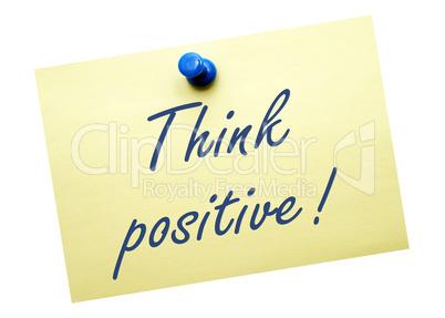denke positive