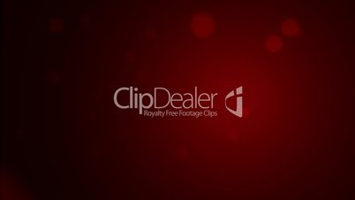 loop background, abstract motion, particle red circle