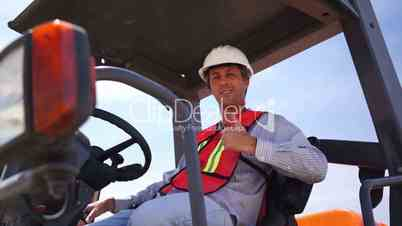Industrial Male Roll Compactor Thumbs Up