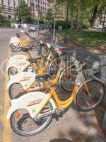 BikeMi cycle hire