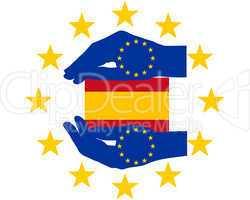 europäische hilfe für spanien