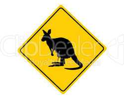 achtung känguru
