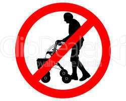 verboten für senioren mit rollator