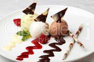 gourmet flavored ice cream