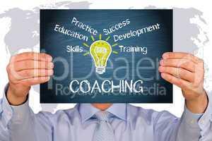 coaching  geschäft konzept