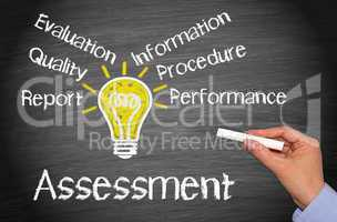 assessment - business concept