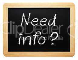 need info ?