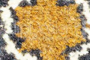 Fragment of the pattern carpet