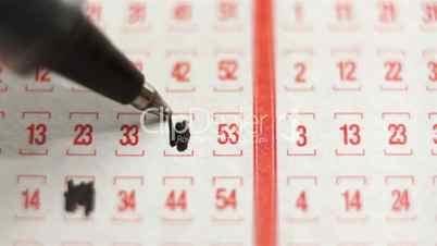 Lottery Ticket Lucky Numbers Macro