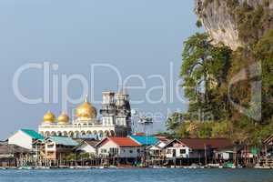 muslim fishing village