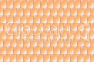 Seamless straw color roof tiles