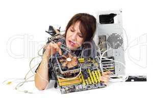computer motherboard problem