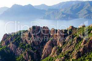 Piana calanche landscape