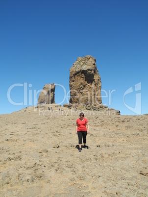 Am Roque Nublo, Gran Canaria