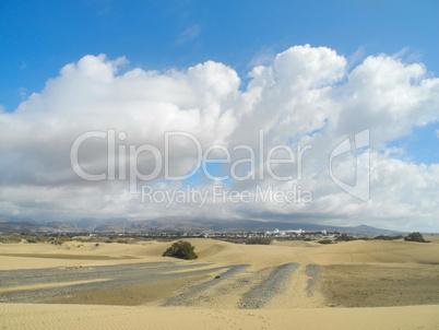 Sanddüne bei Maspalomas, Gran Canaria