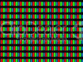 LCD screen micrograph