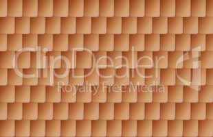 Seamless brown color roof tiles