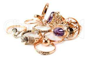 rings of precious metals