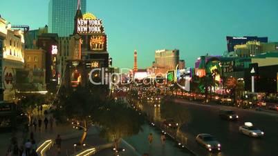 Las Vegas in der Daemmerung Dämmerung
