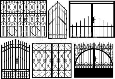 Set Of Different Gates
