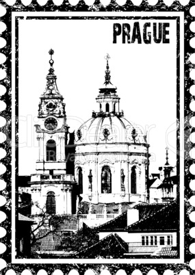 St Nicolas church in Prague