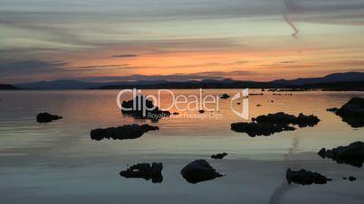 Sonnenaufgang am Mono Lake