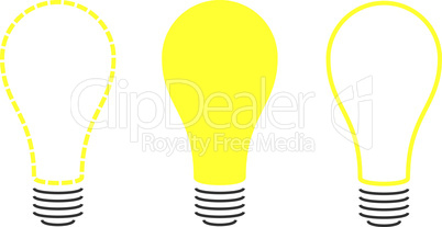 Stylized Light Bulbs