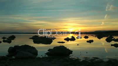 Zeitraffer Sonnenaufgang am Mono Lake