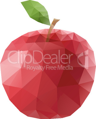Polygonal apple