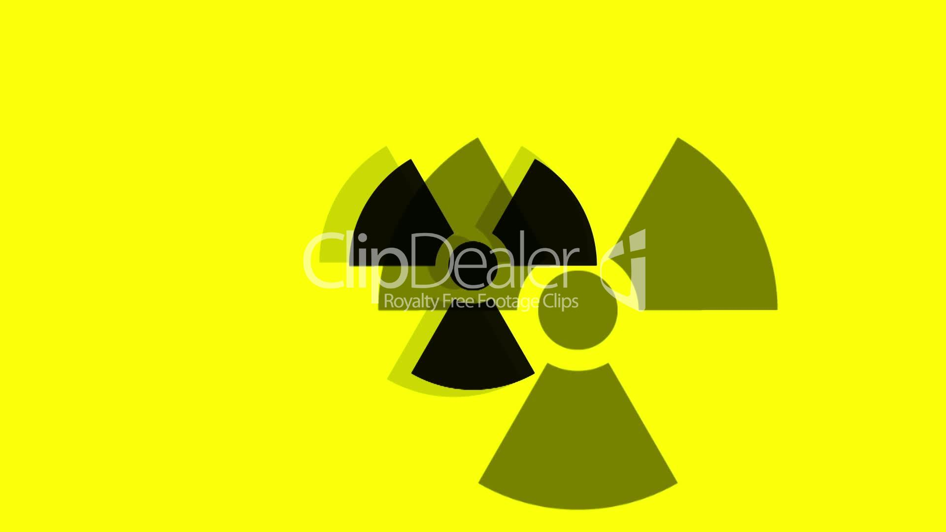 Pulsing radiation symbol royalty free video and stock footage symbol biocorpaavc Image collections