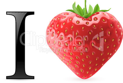 I love strawberry