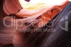 Antelope Canyon Sonnenstrahl
