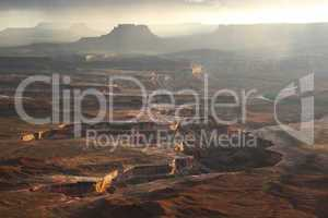 Grand View Point at Canyonlands