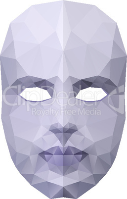 Polygonal face mask
