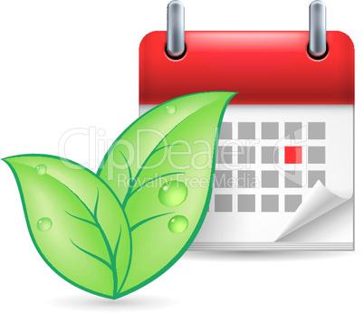 Eco event icon