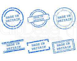 Made in Britain Stempel
