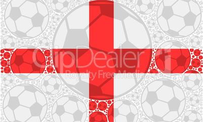 England soccer balls