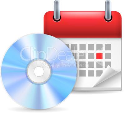 CD and calendar