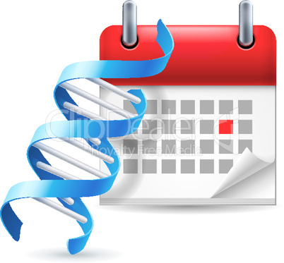 DNA and calendar