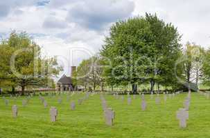 Battle of the bulge - German Military Cemetery