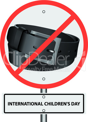 symbol ban punishment belt