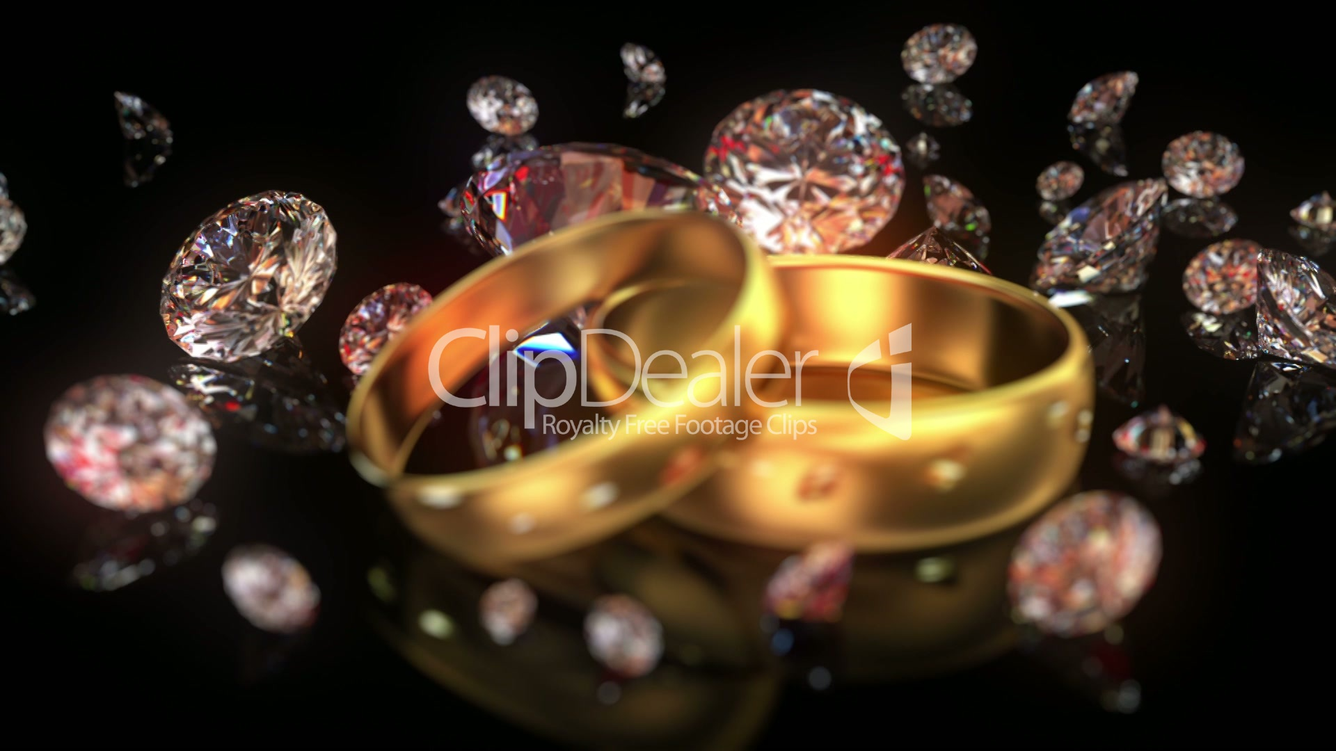 free diamonds video royalty falling and stock diamond footage slowly media