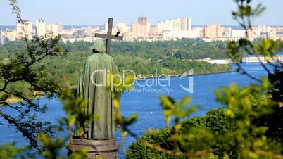 monument to St. Vladimir in Kyiv, Ukraine