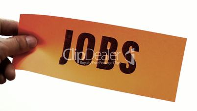 Cutting Jobs Business Concept