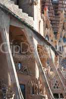 Sagrada Familia Death Facade
