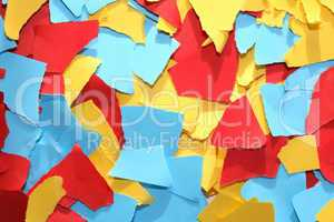 Lacerated Color Paper