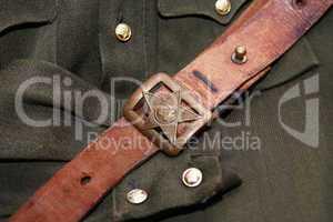 Soviet Officer Belt