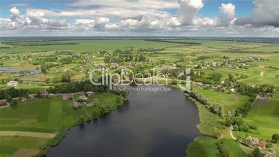 Village with a bird's-eye view